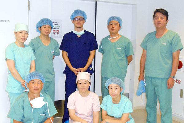 手術室・中央材料室チーム